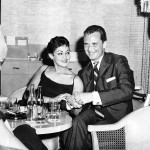 Ida with Walter Link at The Riviera Hotel in Havana, Cuba 1957