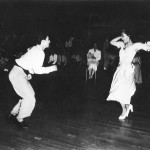 Ida dancing with Augie Rodriguez at The Palladium
